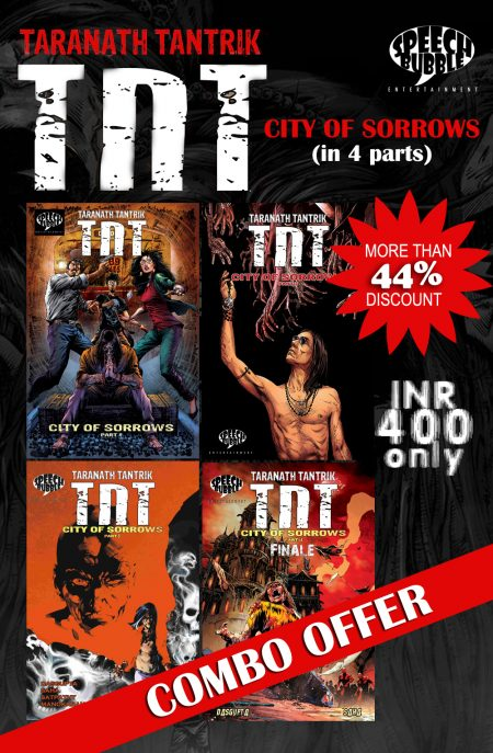TNT : City of Sorrows : Special Combo Offer
