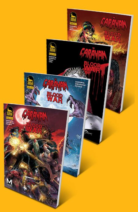 issue2cover issue1cover THE CARAVAN: BLOOD WAR COMBO